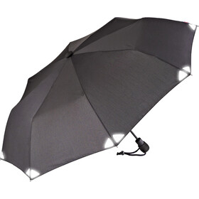 EuroSchirm Light Trek Automatic Umbrella black/reflective